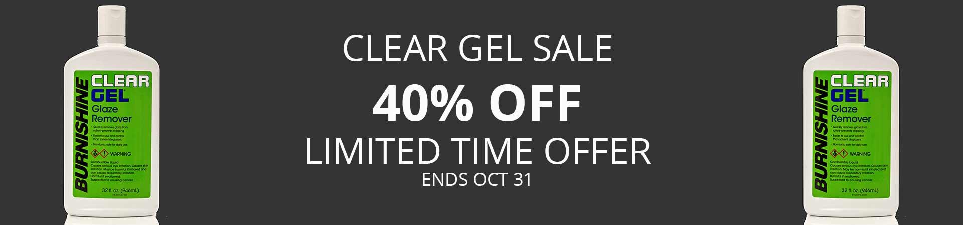 Clear Gel Sale